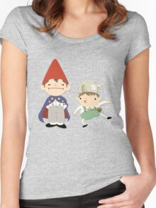 Greg and Wirt - Over the Garden Wall Women's Fitted Scoop T-Shirt