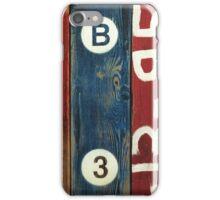 Blue Vitriol iPhone Case/Skin