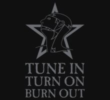 The Sisters Of Mercy -  Turn On Tune In Burn Out - The Worlds End by James Ferguson - Darkinc1