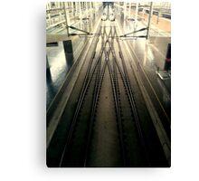 Madrid Train Station Canvas Print