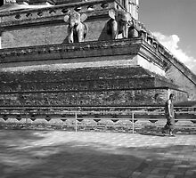 Wat Chedi Luang, Chiang Mai, Thailand by christazuber