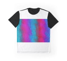 blue red pink and purple flowers abstract background Graphic T-Shirt