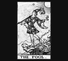 The Fool Tarot Card - Major Arcana - fortune telling - occult by James Ferguson - Darkinc1