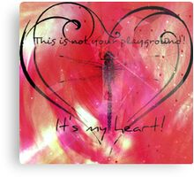 It's my heart! Metal Print