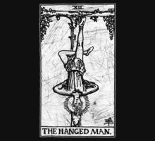 The Hanged Man Tarot Card - Major Arcana - fortune telling - occult by James Ferguson - Darkinc1