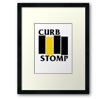 Curb Stomp Framed Print
