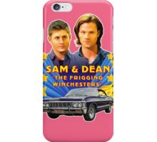 Sam & Dean Vintage Transfer iPhone Case/Skin