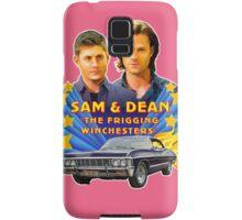Sam & Dean Vintage Transfer Samsung Galaxy Case/Skin