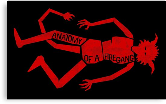 Anatomy of a Firegang by Adho1982