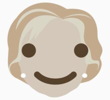 """Hillary """"The Emoji"""" Clinton Happy Smiling Face Baby Tee"""
