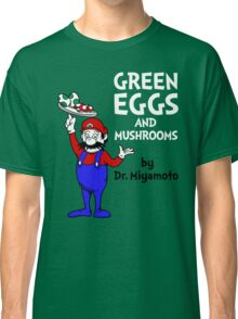 Green Eggs and Mushrooms Classic T-Shirt