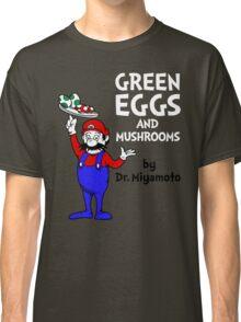 Green Eggs and Mushrooms Classic T-Shirt