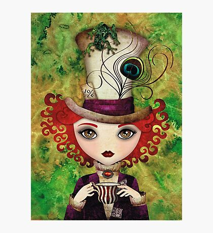 Lady Hatter Photographic Print