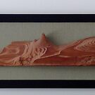 Prairie driftwood, a serendipitous sculpture by nealbarnett