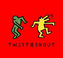 Twist & Shout - Keith Haring by tanguyg
