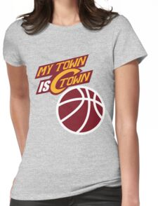 My Town Is C Town Womens Fitted T-Shirt