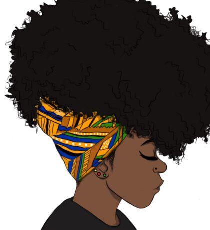 big afro Sticker