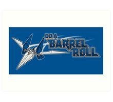 Do a Barrel Roll Art Print