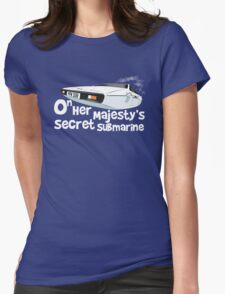 Lotus Esprit Submarine Womens Fitted T-Shirt