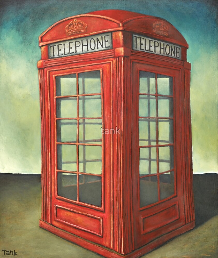 London's calling by tank