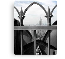 Empire State Building and Freedom Tower Canvas Print