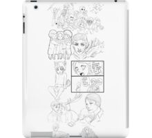 Hannibal sketches 2 iPad Case/Skin