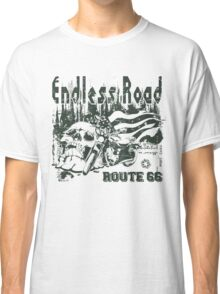 Endless Road - Motorcycle Sticker Classic T-Shirt