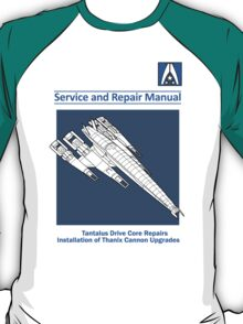 SR2 Service and Repair Manual T-Shirt