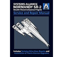 SR2 Service and Repair Manual Photographic Print