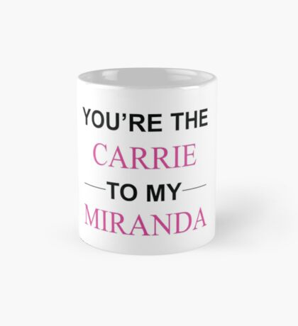 Sex and the City - Carrie-Miranda Mug