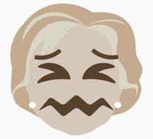"Hillary ""The Emoji"" Clinton Sour Face Kids Tee"