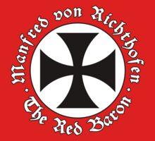 Manfred von Richthofen - The Red Baron - World War 1 -WWI by James Ferguson - Darkinc1