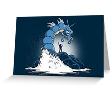 Free Gyarados Greeting Card