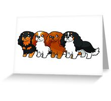 Cavalier Collection - Horizontal Greeting Card