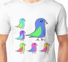Bebop Birds Unisex T-Shirt