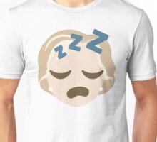 "Hillary ""The Emoji"" Clinton Sleepy ZZZ Face Unisex T-Shirt"