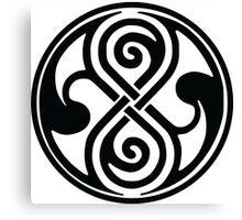 Seal of Rassilon / Seal of Gallifrey Canvas Print