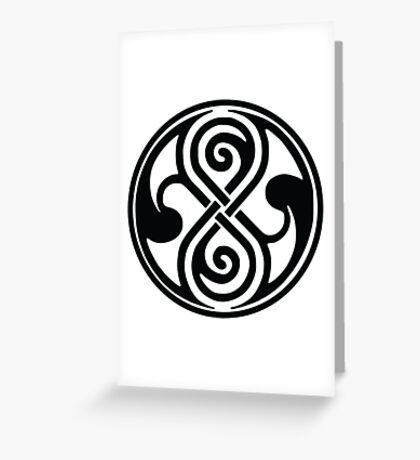 Seal of Rassilon / Seal of Gallifrey Greeting Card
