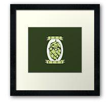Hop Head Framed Print
