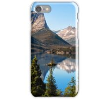 St Mary's Lake, Glacier National Park, MT iPhone Case/Skin