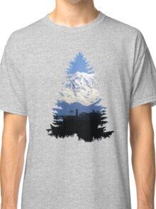 Hike Spokane- Double Exposure Classic T-Shirt