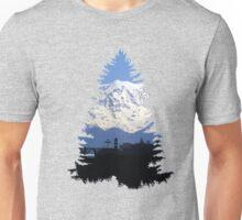 Hike Spokane- Double Exposure Unisex T-Shirt
