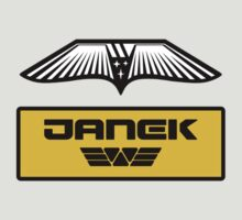 Prometheus JANEK - Patch and Wings (Android) - Weyland Logo (CLEAN NEW LOOK) by James Ferguson - Darkinc1
