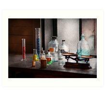 Science - Chemist - Chemistry Equipment  Art Print