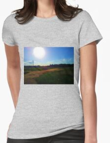 Sunny Farm Womens Fitted T-Shirt