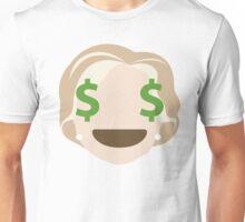 "Hillary ""The Emoji"" Clinton Money Face Unisex T-Shirt"