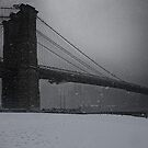 Brooklyn Bridge Blizzard by Chris Lord