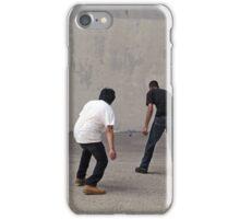 Urban Handball Match iPhone Case/Skin