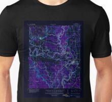 USGS TOPO Map Arkansas AR Newport 260219 1935 62500 Inverted Unisex T-Shirt