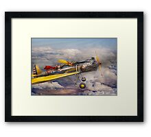Flying Pig - Plane -The joy ride Framed Print